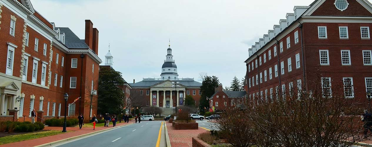 Annapolis Government Buildings July 2019