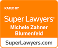Super Lawyers rating for Michele Blumenfeld