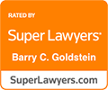 Super Lawyers rating for Barry Goldstein
